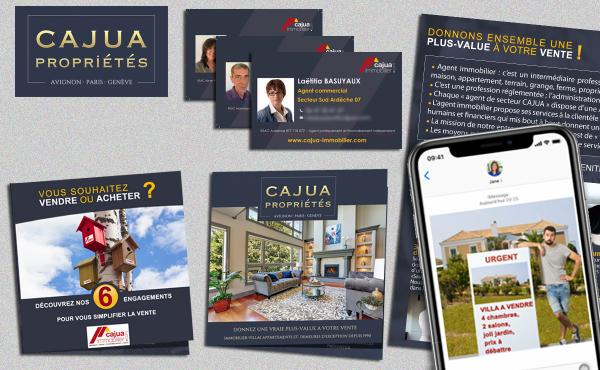 Cajua immobilier confie sa communication à Rhinoferos